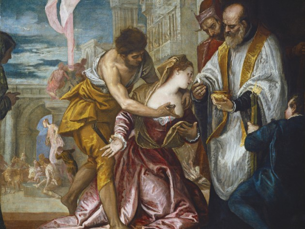 The Martyrdom and Last Communion of St. Lucy, Veronese, c.1582, Oil on canvas, National Gallery of Art, Washington DC.