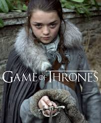 Game of Thrones' Arya Stark, played by Maisie Williams.