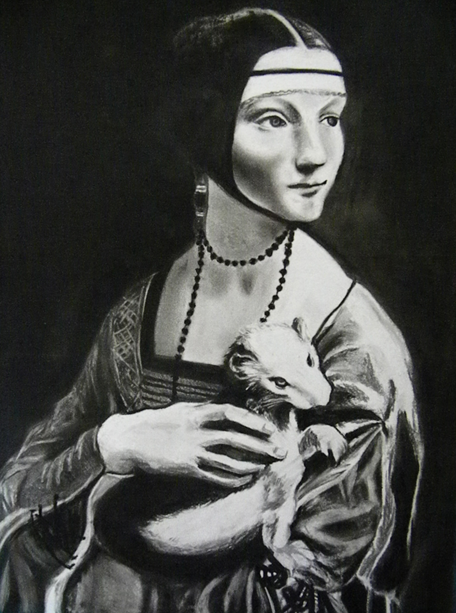 Lady with Ermine by Chaya Av