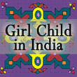 Girl Child in India button