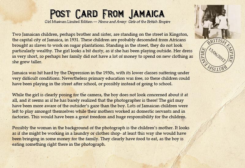 Postcard-JamaicanGirl