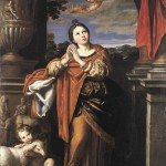 Saint Agnes by Domenichino