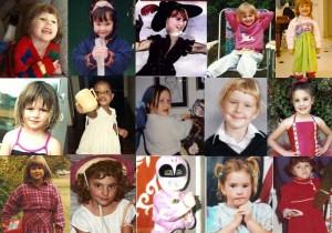 Childhood photos of our Junior Girls team