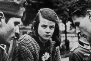Sophie Scholl, shortly before her death.