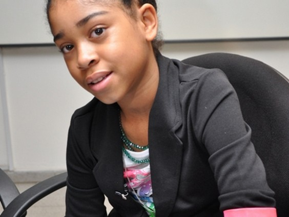 Zuriel is an 11-year-old champion for girls education in Africa.