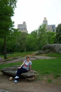 Tiffany in Central Park