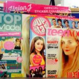 Paper and ink big sisters: teen mags