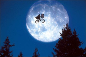 Poster from E.T. The Extra Terrestrial.