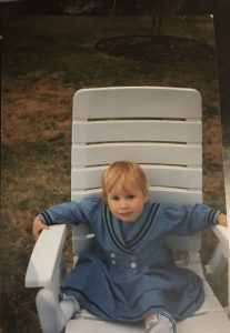 Clara Carson childhood pic
