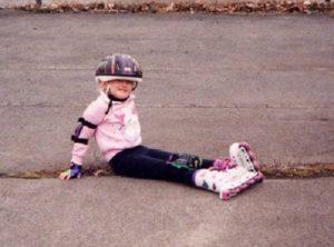 Courtney Bastian childhood photo