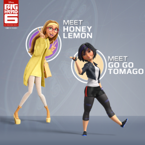 Honey Lemon and GoGo Tomago are two fictional STEM heroines. Click through our slideshow to find real life ones!