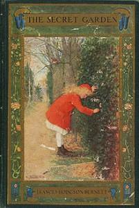 1911 cover for The Secret Garden, by Frances Hodgson Burnett.