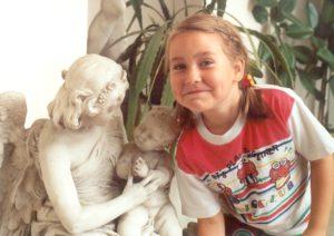 michalina szymanska childhood photo