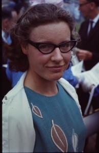 Jocelyn in 1967. Image courtesy Roger W. Haworth.