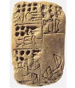 Mesopotamian tablet with inscription describing Tapputi-Belatekallim.