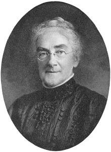 Ellen Henrietta Swallow Richards, from The Life of Ellen H. Richards by Caroline L. Hunt, 1912.