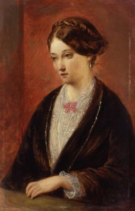 Florence Nightingale, by August Leopold Egg. Image from Wikipedia.