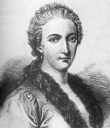 Maria Gaetana Agnesi. Image from Wikipedia.