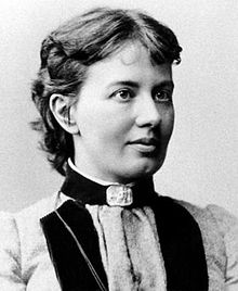 Sofia Kovalevskaya. Image from Wikipedia.