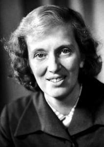 Dorothy Hodgkin. Image from Wikipedia.
