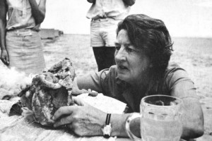 Mary Leakey. Image from ibnlive.in.com.