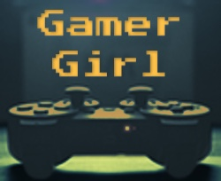 Gamer Girl button large