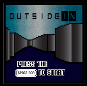 Screenshot of Outside In intro.