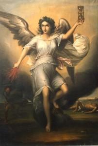 Nemesis (1853), by Gheorghe Tattarescu