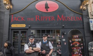 'The one thing we do know is that Jack the Ripper targeted women in prostitution, and that after he cut their throats he deliberately ripped out their wombs.' Photograph: Guy Bell/Rex Shutterstock