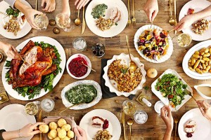 A modern take on Thanksgiving. Image from Saveur.com.