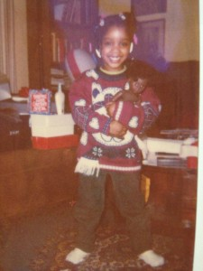 Ravon as a child