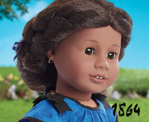 American Girl's promotional picture of the Addy Walker doll.
