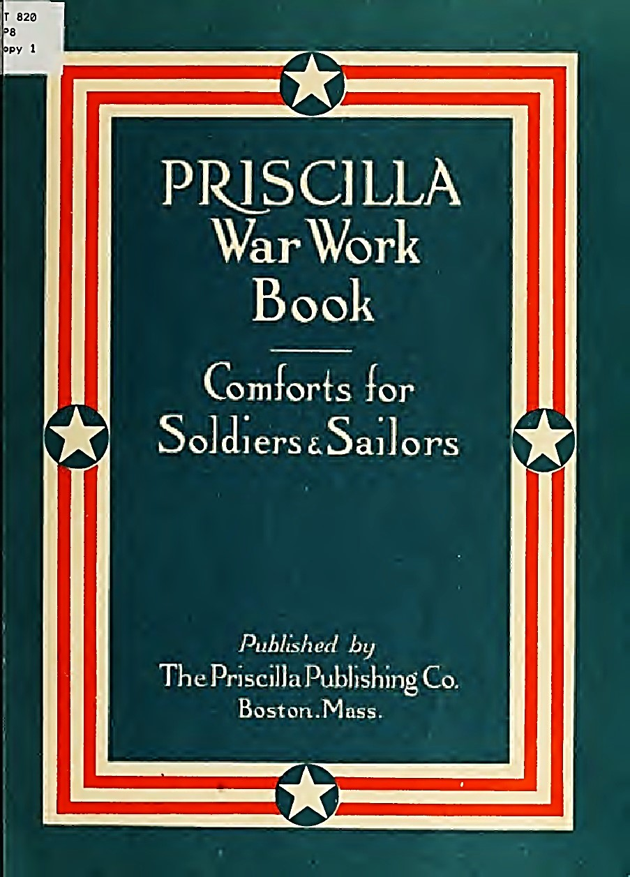 Priscilla Publishing War Workbook.  Colours can of original booklet. © .