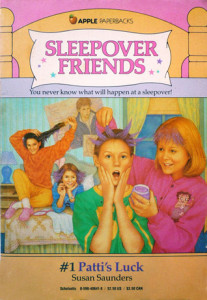 The first book in the Sleepover Friends series.