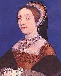 Miniature Portrait of Catherine Howard by Hans Holbein the Younger.