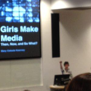 Girls Make Media speaker at International Girl Studies Association conference