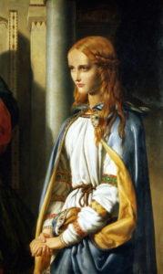Cordelia, painted by John Rogers Herbert in 1850.