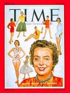 3. Claire McCardell, Time Magazine, 1955