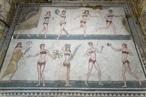 Bikini Girls Mosaic