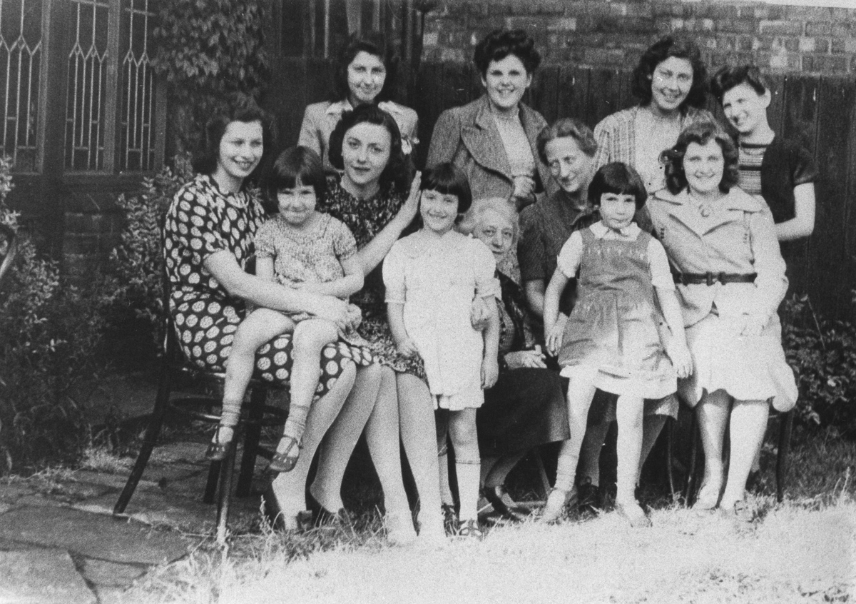 German-Jewish refugees at Harris House, Southport, Lancashire, 1938-1939.