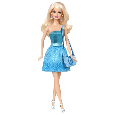 The old style Barbie.