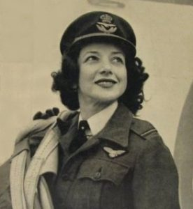 Jackie Moggridge, as an ATA Pilot. Image from 'Spitfire Girl', My Life in the Sky, Jackie Moggridge, 1957/2014.