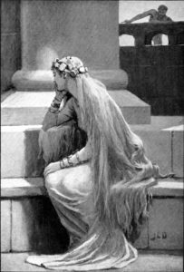 Sif by John Charles Dollman, 1909.