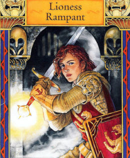 Girl Soldiers: Sir Alanna from Song of the Lioness (Tamora Pierce)