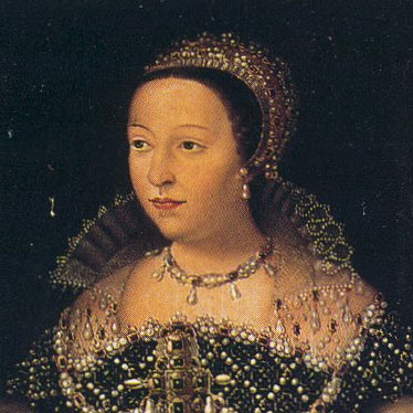 Catherine de Médicis during her reign as Queen Consort of France.