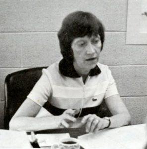 Elaine Hedges in 1976.