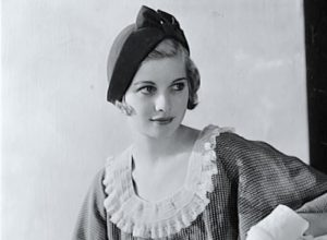 Lucy at age 19, in 1930.