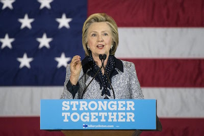 Hillary Rodham Clinton is the first woman to be nominated for president by a major political party.