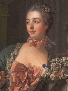 Boucher_Marquise_de_Pompadour_1756_detail