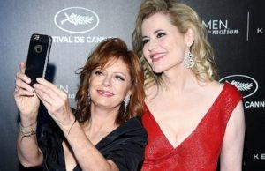 Susan Sarandon and Geena Davis. Photo: Venturelli/2016 Venturelli
